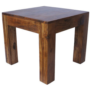 Sheesham Cube Coffee Table, Small