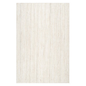 Nuloom Braided Lefebvre Rug Salt And Pepper 2 6 Quot X8