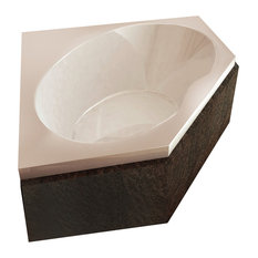Atlantis Whirlpools Venus 60 x 60 Corner Soaking Bathtub