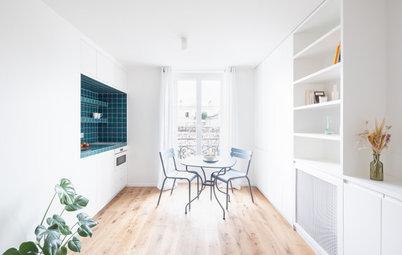 Avant/Après :  Un studio parisien de 16 m2 idéalement rénové
