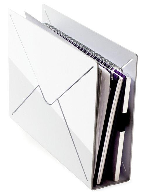 Desk Letter, Vit - Skrivebordstilbehør