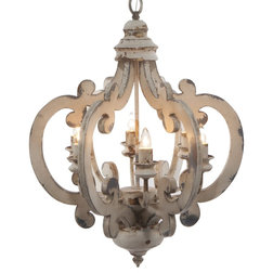 Farmhouse Chandeliers by A&B Home