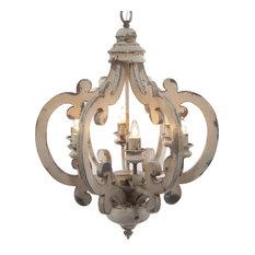 Funky chandeliers houzz bay elizabeth crown shaped 6 bulb chandelier chandeliers aloadofball Choice Image