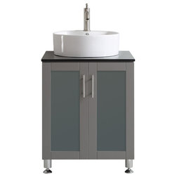 Popular Contemporary Bathroom Vanities And Sink Consoles by Vinnova