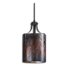 Uttermost   Uttermost Akron 1 Light Copper Mini Pendant   Pendant Lighting Good Ideas