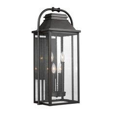 Feiss 4-Light Outdoor Lantern, Bronze