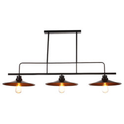 Industrial Chandeliers by Houzz