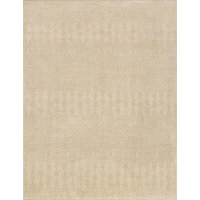 """Hand Knotted Wool Essex Area Rug by Loloi, Ivory / Tusk, 9'6""""x13'6"""""""