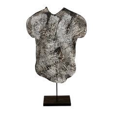Contemporary Modern Abstract Sculpture, GHOST TORSO by Charles Sabec, 2014.