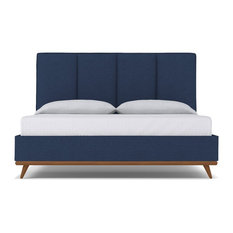 Carter Upholstered Bed, Blue Jean, Eastern King