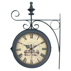 EMDE Double Metal Wall Clock
