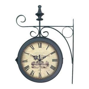 EMDE Double Metal Wall Clock