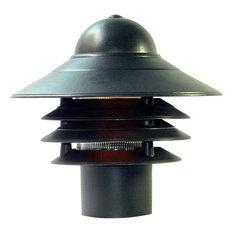 "Acclaim Lighting 87 Mariner 1 Light 10""H Post Light - Black"