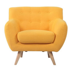 divano roma furniture gerald accent chair yellow armchairs and accent chairs