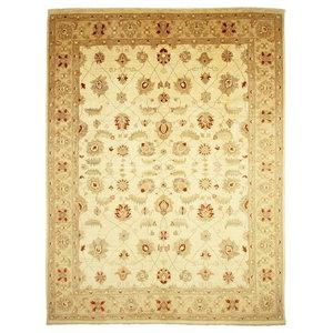 Ziegler Farahan Oriental Rug, Pakistan Hand-Knotted, 358x274 cm