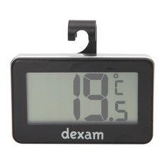 Dexam Digital Fridge Freezer Thermometer, Black