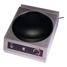 "Tarrison CW-25-1, 15"" Countertop Induction Wok Range"
