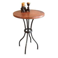 """Woodland 40"""" Bar Table With 30"""" Round Top"""