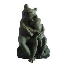 Love Frogs Garden Statue