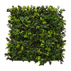 UV-Resistant Ivy Plant Artificial Green Wall, Set of 4