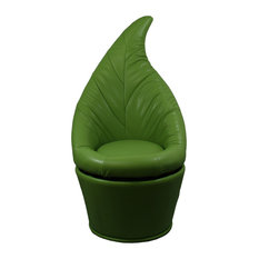 Green leaf Sesign Swivel Accent Chair