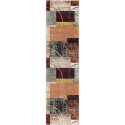 Contemporary Hall And Stair Runners by Tayse Rugs