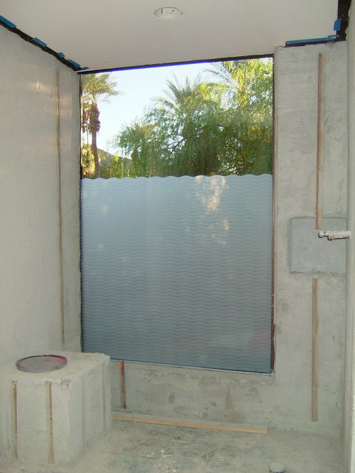 Bathroom Windows Wave Pattern Frosted Gl Designs Privacy
