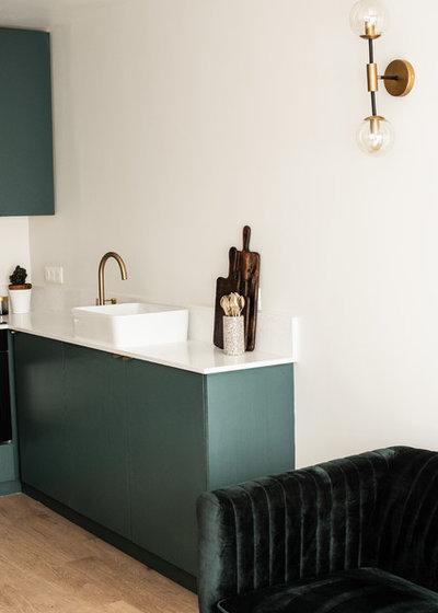 Contemporain  by Yanna Williams architecte d'intérieur