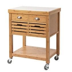Fancy Transitional Kitchen Islands And Kitchen Carts by Boraam Industries Inc