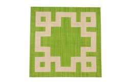 Placemat Set, Kelly Green