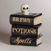 Spell Book Treat Jar