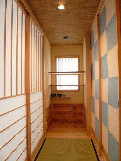 和室・和風 廊下 by 西川真悟建築設計