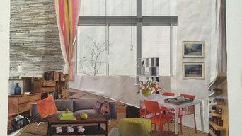 Eclairage dans une maison moderne