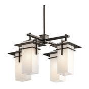 Indoor/Outdoor Chandelier 4-Light