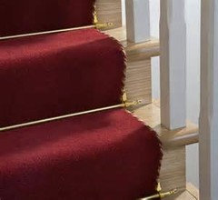 They Sell Brackets For Stair Carpet Runners At Hardware Stores.
