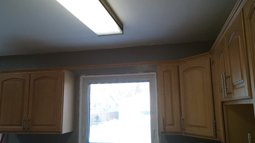 Wood Valance Over Sink Or Not