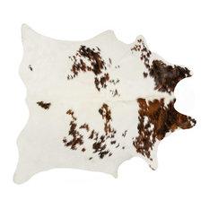 Salt & Pepper Cowhide Rug - S&P Chocolate/White 6' X 7'