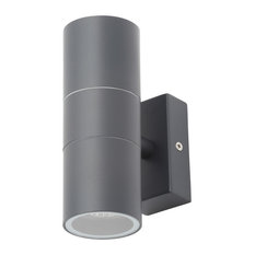 Kenn 2-Light Outdoor Up and Down Wall Light, Anthracite