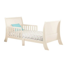 The Orbelle Louis Philippe Toddler Bed, French White