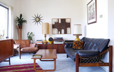 Meet My Houzz: John and Angela's Mid-Century-Style Home