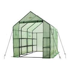 Very Spacious, Sturdy Walk-In 2-Tier 12-Shelf Portable Garden Greenhouse