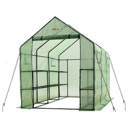 Contemporary Greenhouses by VirVentures