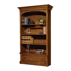 Hekman Urban Executive Bookcase Center Urban Ash Burl