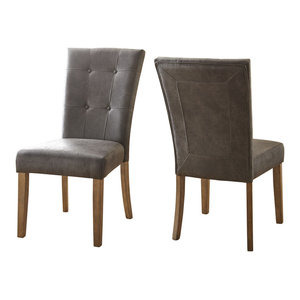 Debby Side Chairs, Set of 2, Gray