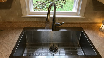 Replace Kitchen Sink and Faucet