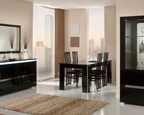 elite modern italian black lacquer dining table dining tables b131t modern noble lacquer dining table