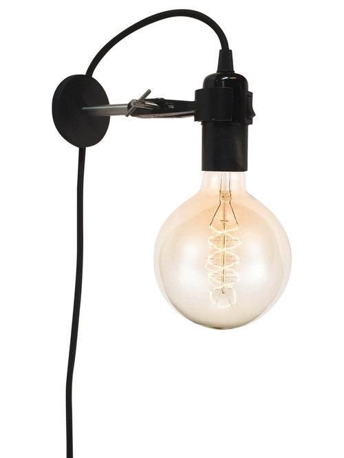 KEMIKAZE - Kemikaze Ohm S Wall Mounted Lamp, 40W - Lampetter
