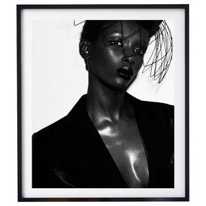 """Adia 001"" Fashion Photography Print, Framed, 58x71 cm"