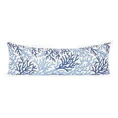 Rennie /& Rose Coastal Collection Sea Turtle 18-Inch Stuffed Pillow Surf//Blue