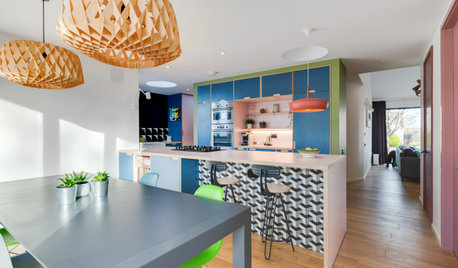 Visit an Architect's Color-Happy Contemporary Home